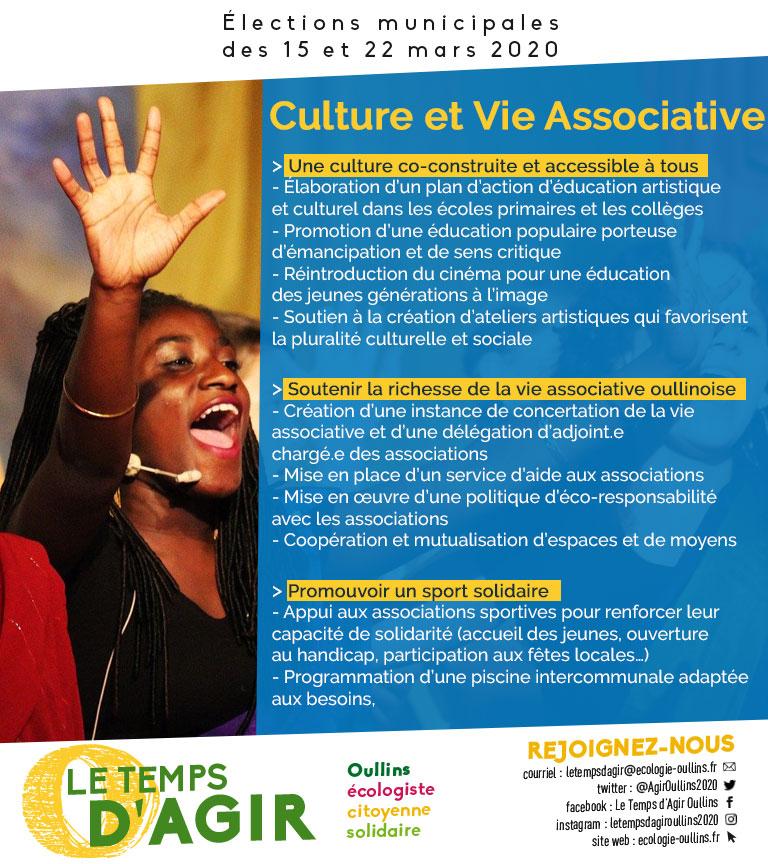 Culture et vis associative Oullins